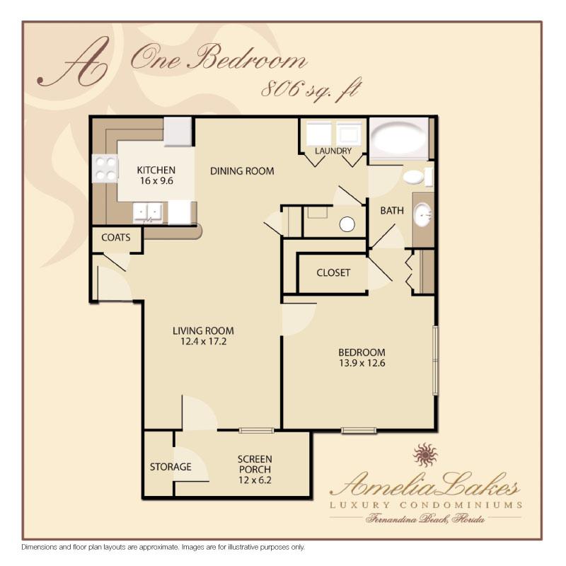 2 Bedroom 2 Bath Condo Floor Plans Floors Doors